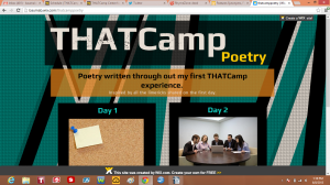 thatcamp poetry